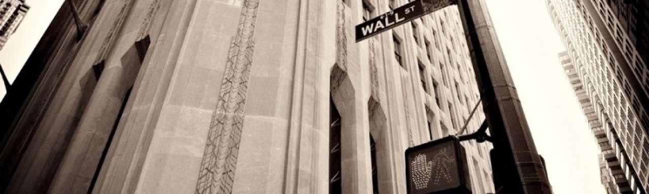 Wall Street gokt op 4 graden aardopwarming