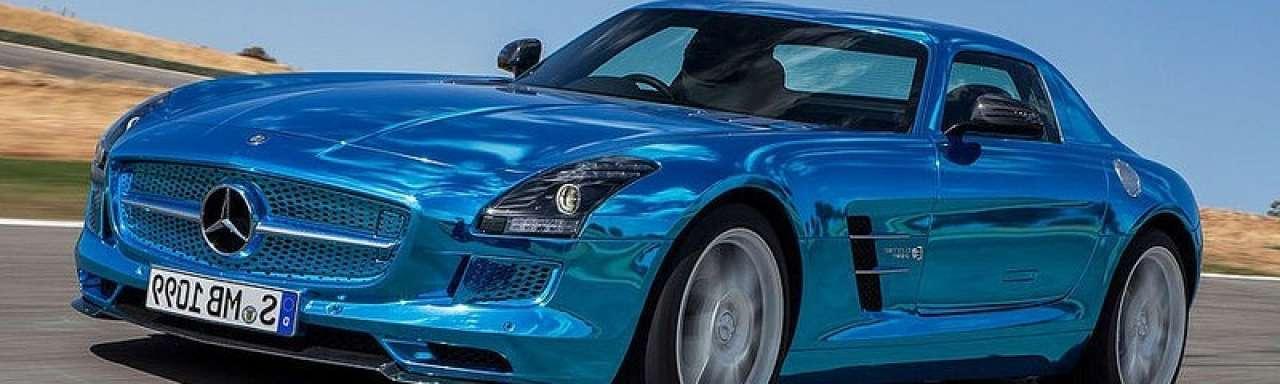 Mercedes start productie elektrische sportwagen