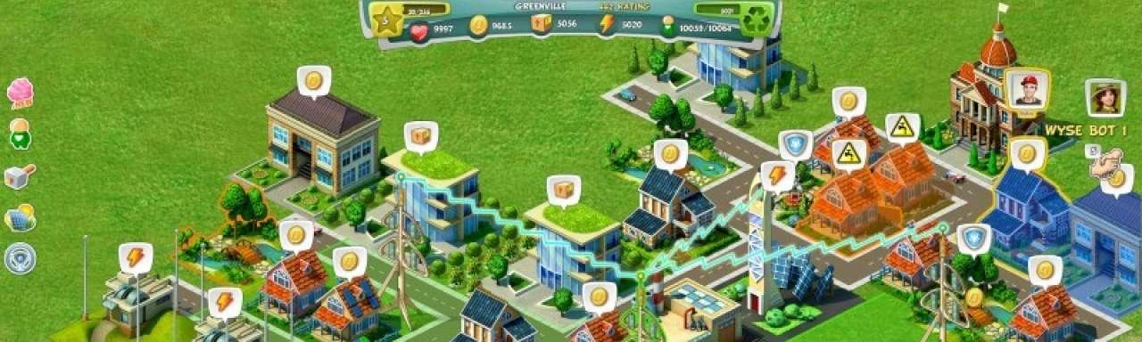 Game-over voor niet-duurzame stad in nieuw computerspel