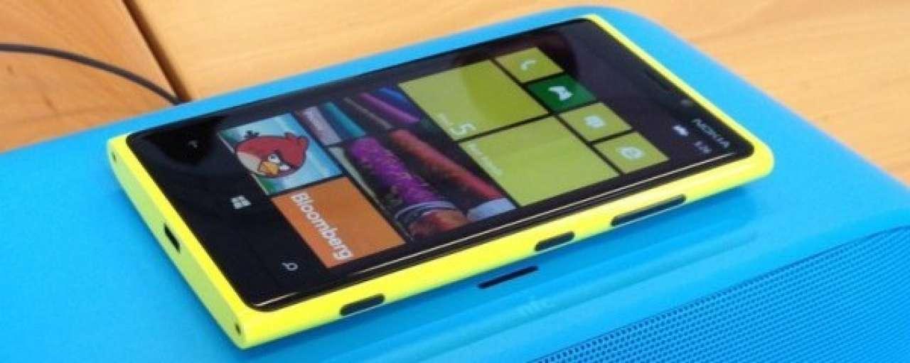 Nieuwe Nokia smartphone laadt zich op door zon