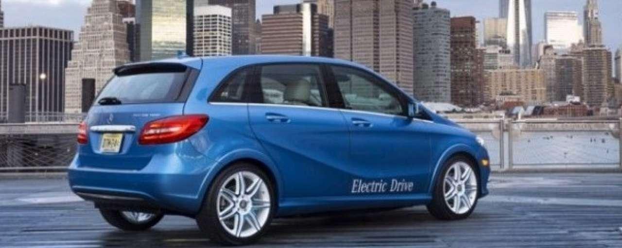 Mercedes introduceert slimme elektrische B-klasse