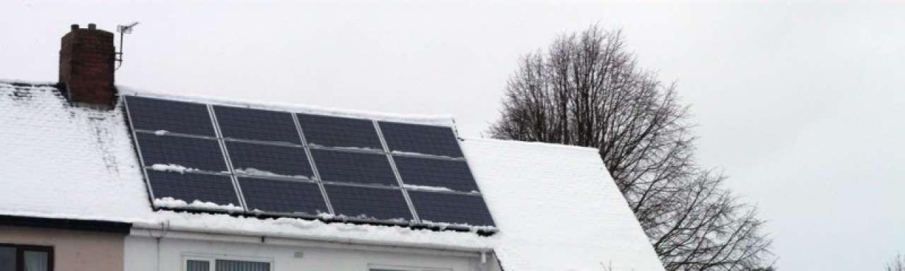 Zonnecellen produceren 10% meer bij lage temperatuur