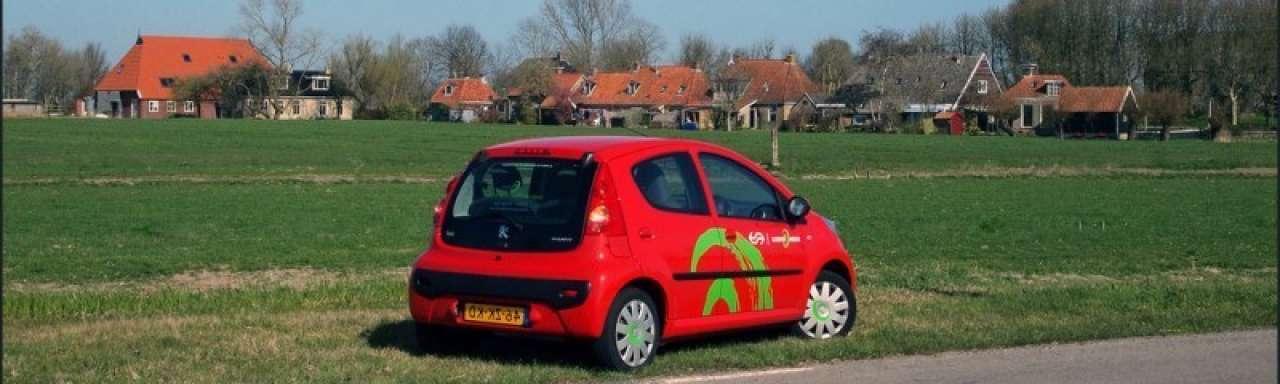 Volkswagen stapt in succesvol Greenwheels