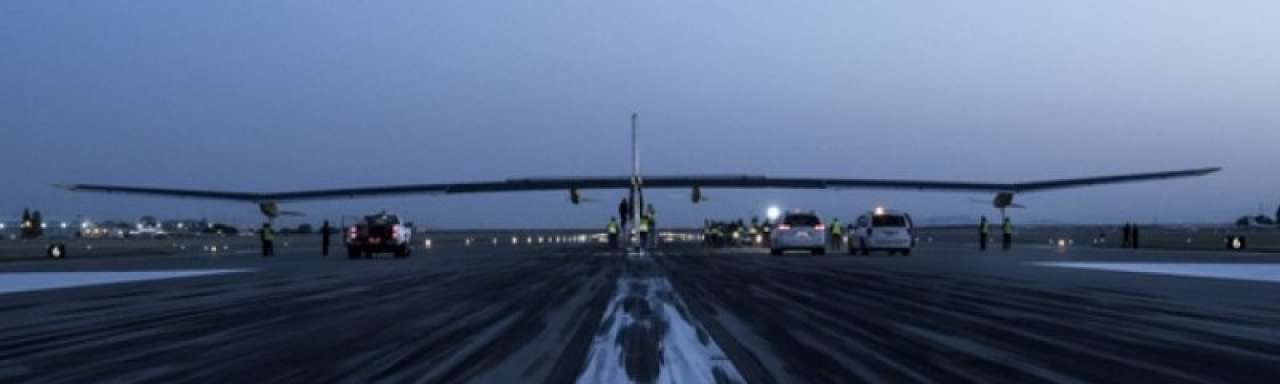 Vliegers starten promotietour zonne-energie in VS