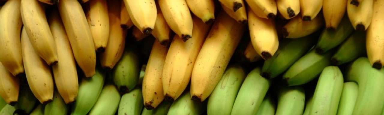 Bananenschillen zuiveren water
