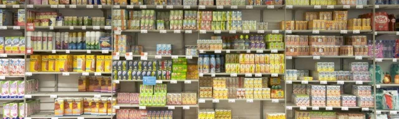 Voedingsketen weinig interesse in 'verstandige' verpakkingen