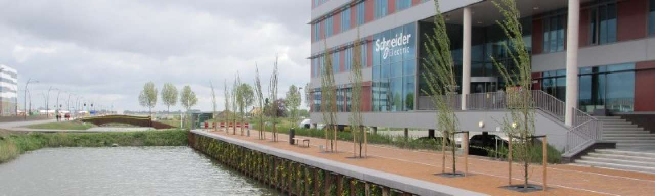 Duurzaam kantoor Schneider Electric dankzij eigen expertise