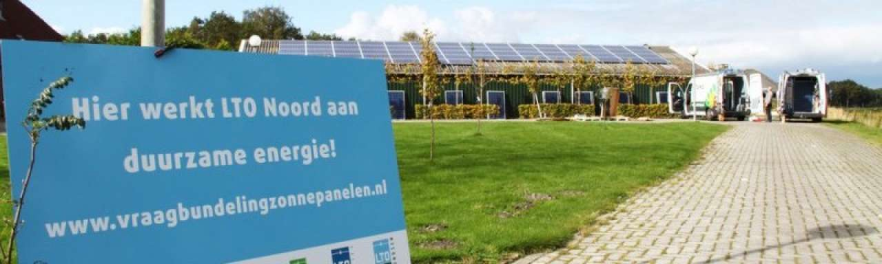 Boeren geven voorbeeld in installeren zonne-energie