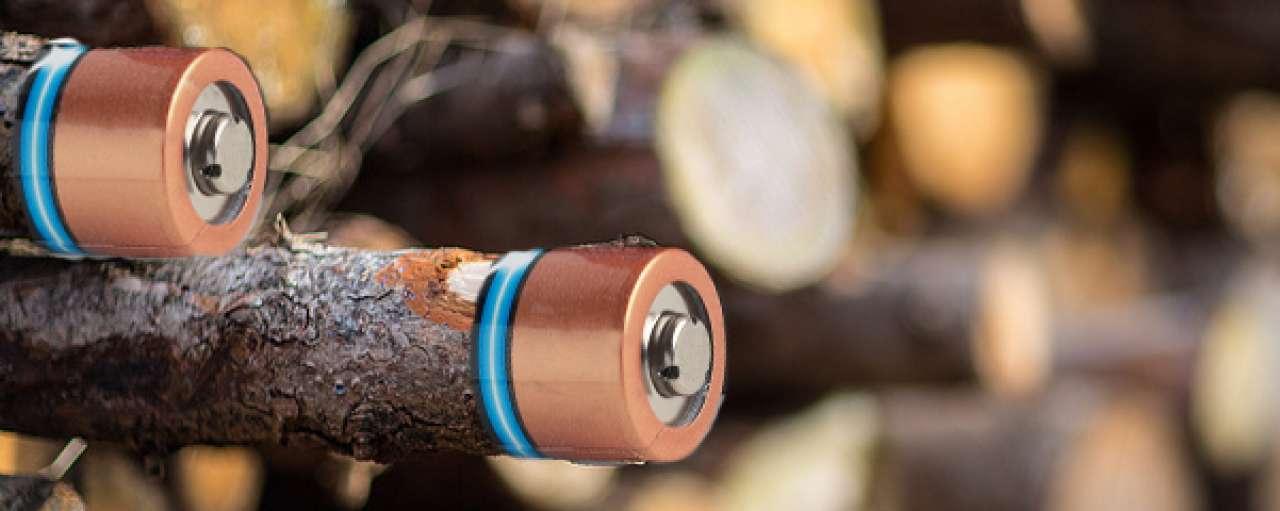 Hout, het nieuwe ingrediënt voor batterijen