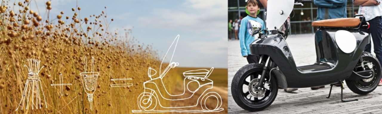 Van 100 naar 1: 's Werelds duurzaamste elektrische scooter