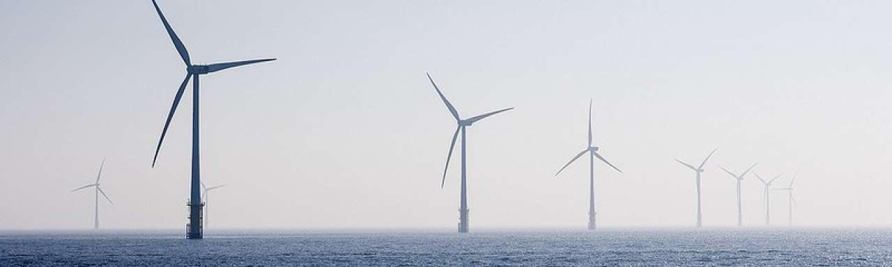 Engeland opent 's werelds grootste windmolenpark
