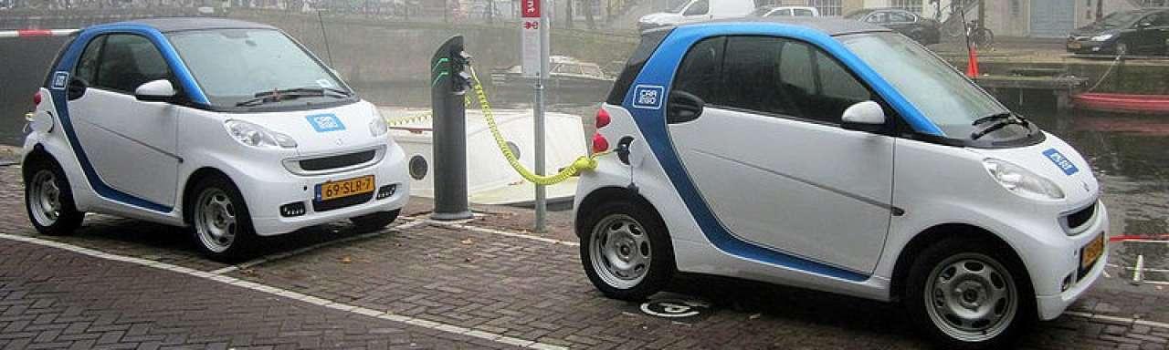 10.000 elektrische auto's in Nederland