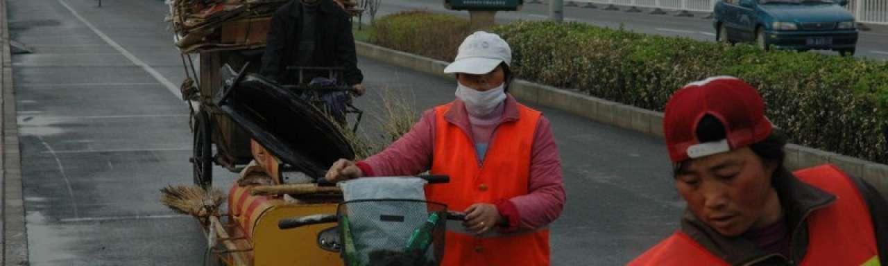 Topoverleg over groene groei in vervuild Beijing