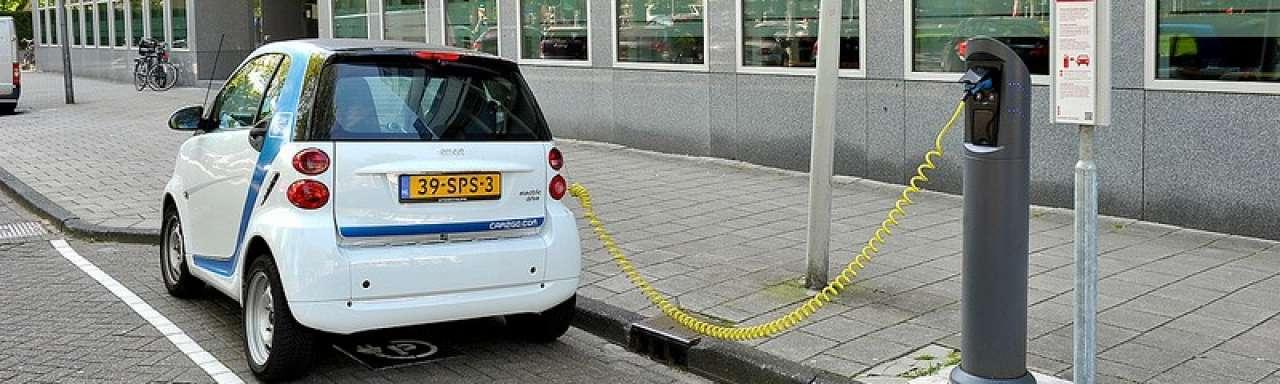 Dreigend parkeerprobleem elektrische auto's
