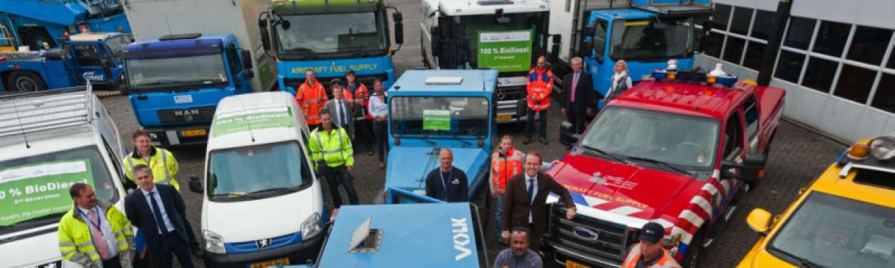 SkyNRG voorziet Schiphol van duurzame diesel