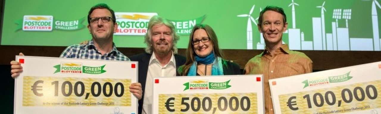 NL startups winnen €100.000 in Postcode Lottery Green Challenge