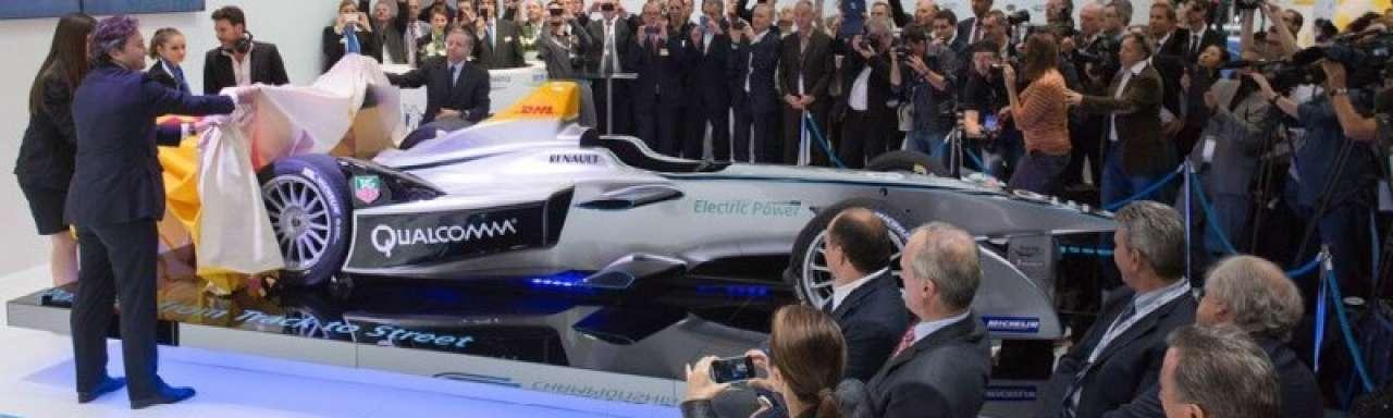 Racemonster onthuld voor nieuwe elektrische Formule E