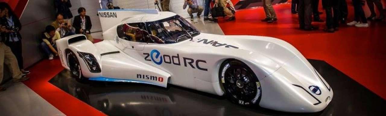 Nissan onthult 's werelds snelste elektrische raceauto