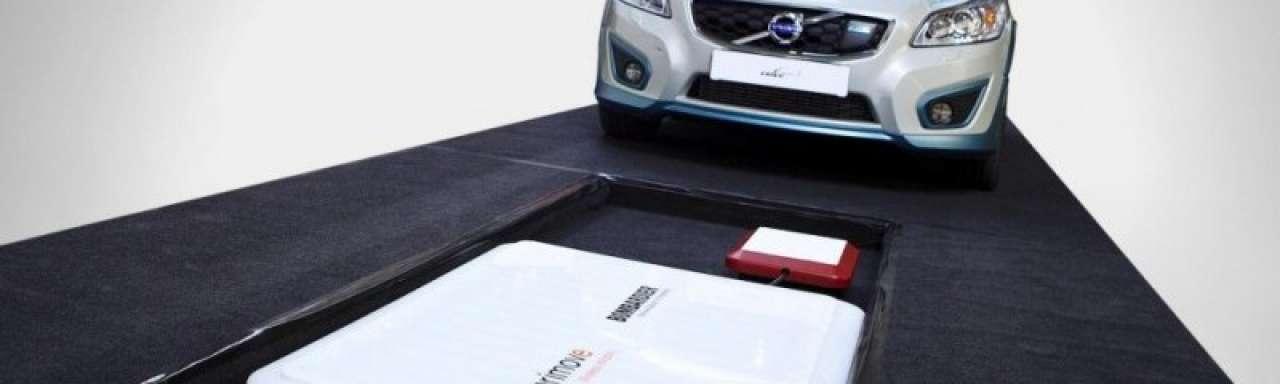 Volvo C30 draadloos opladen in 2,5 uur