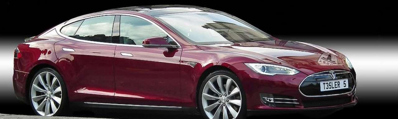 Tesla Model S best beoordeelde (elektrische) auto