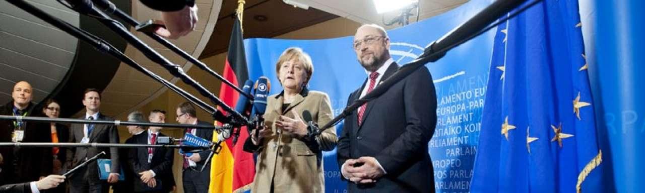 Felle Merkel verdedigt stroomkorting zware industrie
