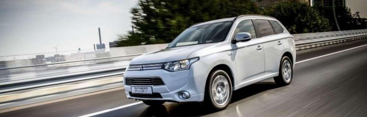 Mitsubishi Outlander PHEV groot succes in Europa