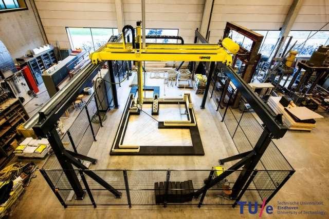 3D Concrete Printing TU Eindhoven