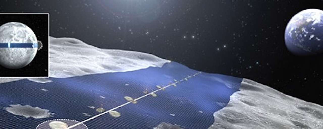 Japans bedrijf wil zonnepanelen op de maan