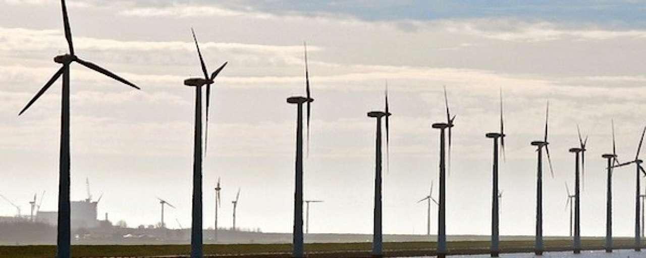 Productie hernieuwbare energie in 2013 gedaald