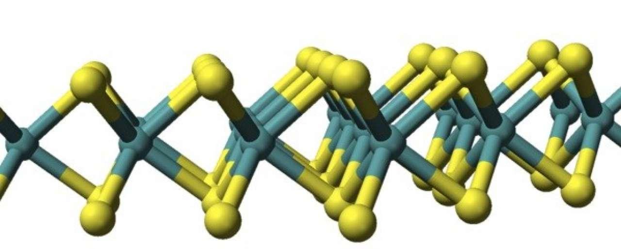 Ultradunne zonnecel is slechts drie atomen dik