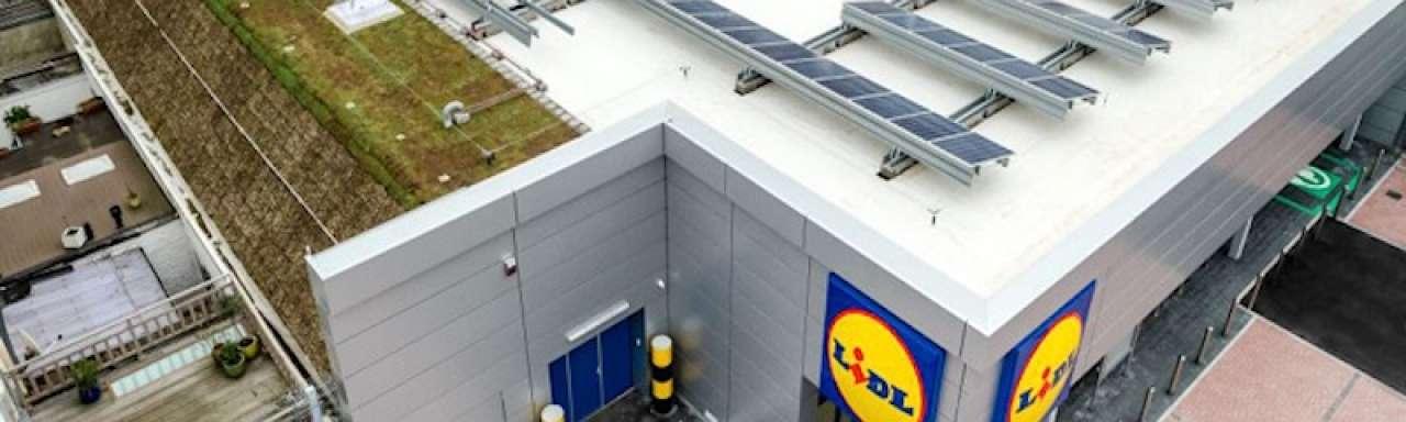 Lidl opent in België eerste CO2-neutrale winkel