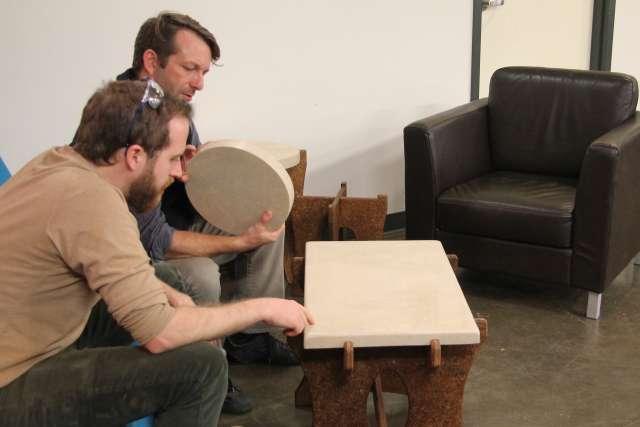 duurzame meubels paddenstoelen