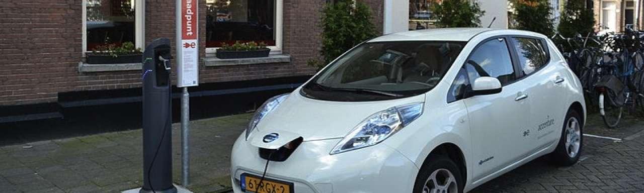 Elektrische auto moet meer lawaai maken