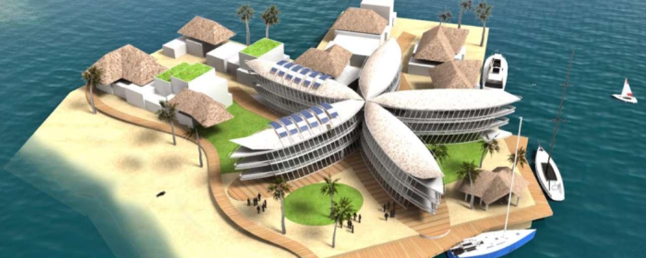 drijvende stad duurzaam eiland