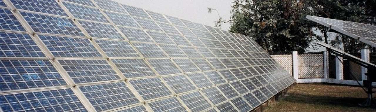 VS stappen naar WHO om zonnepanelen India