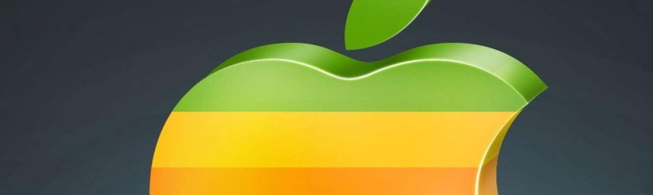 Apple wil niet meer groen zijn