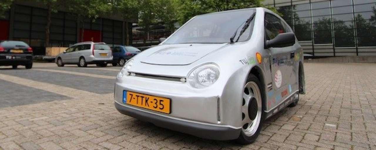 Superzuinige auto TU Eindhoven krijgt kenteken
