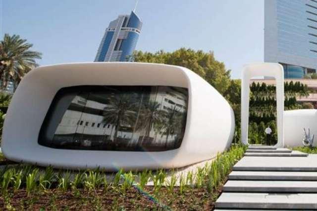 kantoor van de toekomst 3D-print