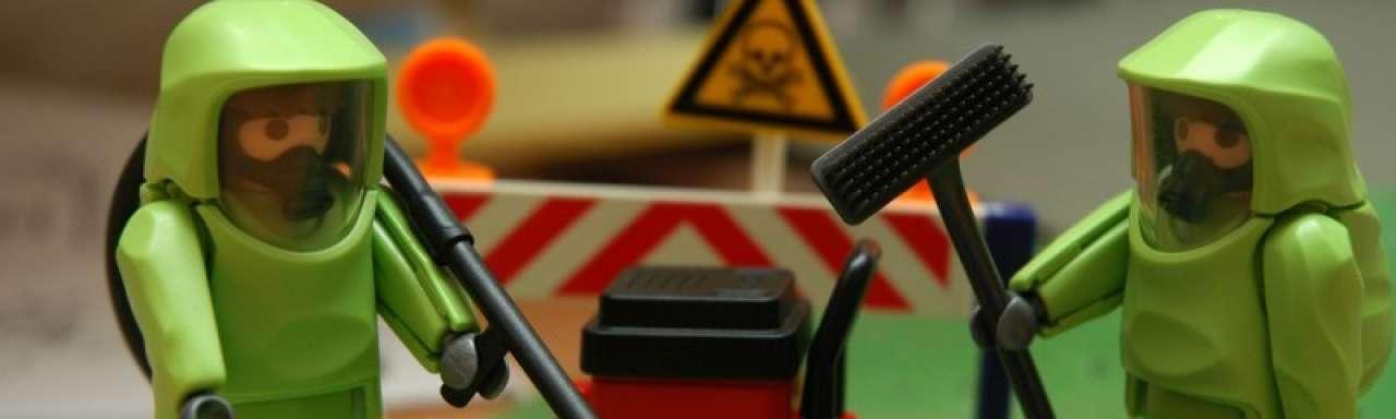 Britten in dubio over verwerking nucleair afval