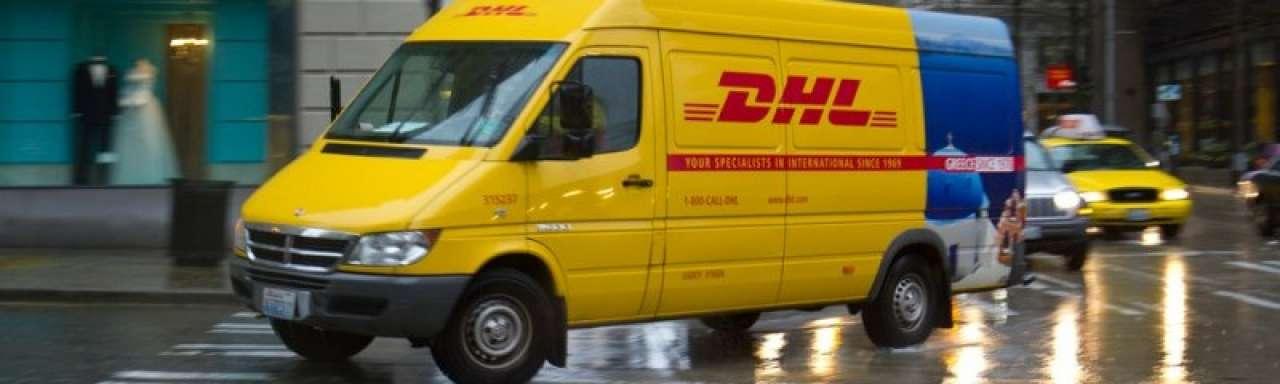 Pakketkluis DHL bespaart autokilometers