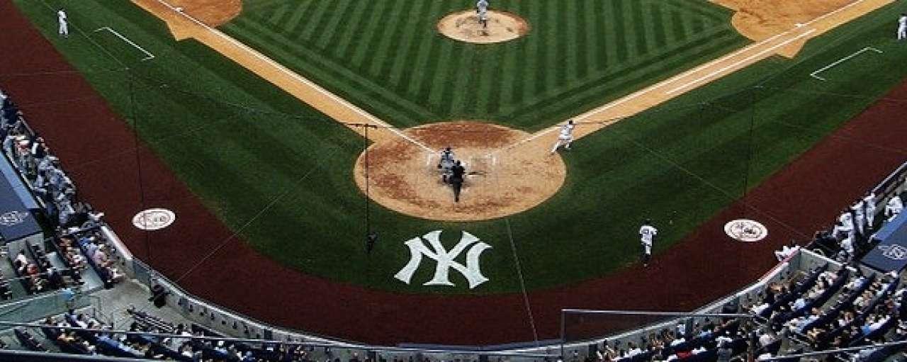 Amerikaans honkbal slaat groene slag