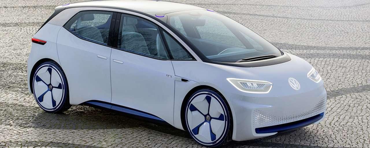 Eerste Ev Van Volkswagen In 2020 In Productie