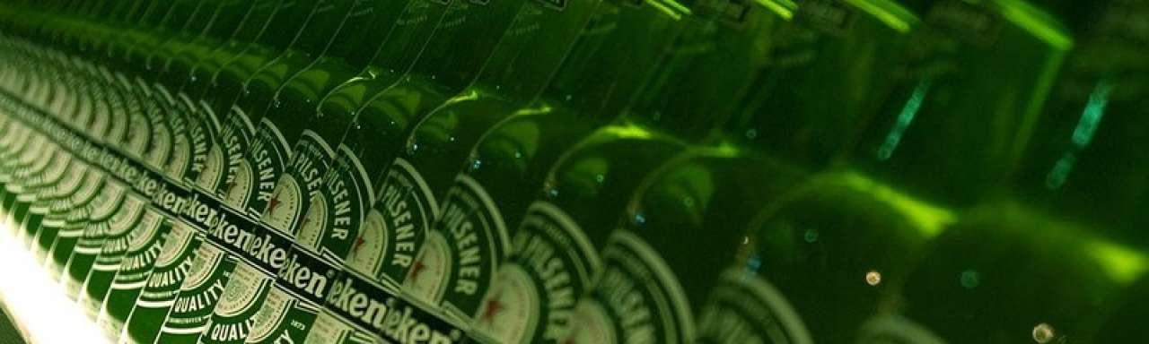 Heineken vermindert CO2 door reisbeperking