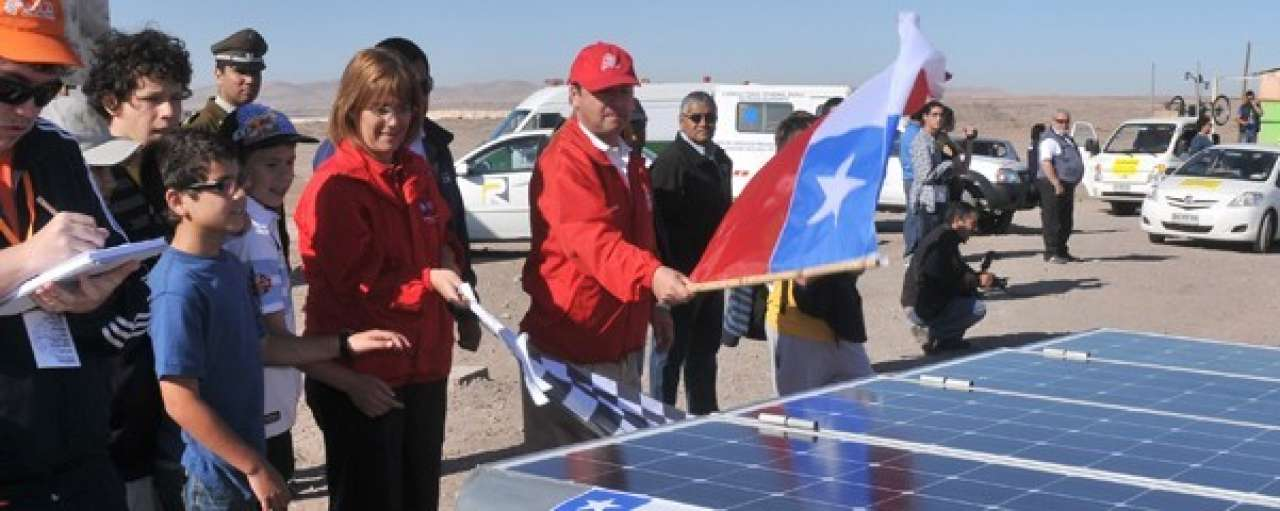 Chileense zonne-energie in opkomst