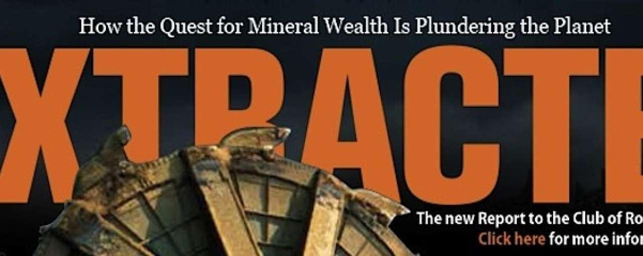 'Uitputting mineralen beperkt economische groei'