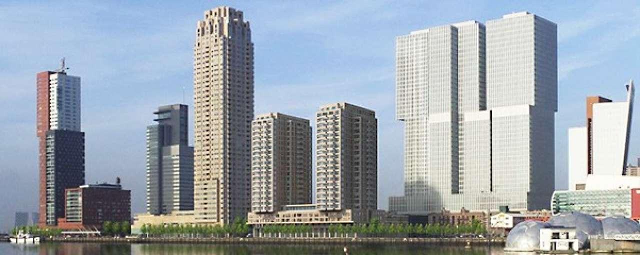 Eneco koelt Rotterdamse skyline met Maaswater