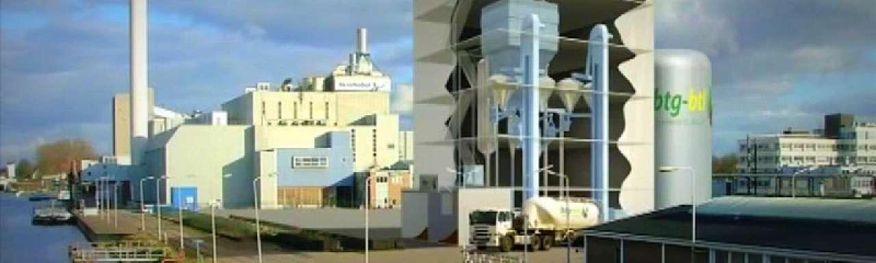 Startsein innovatieve pyrolyse-fabriek in Hengelo