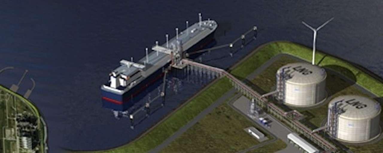Distributiepunt LNG stap dichterbij