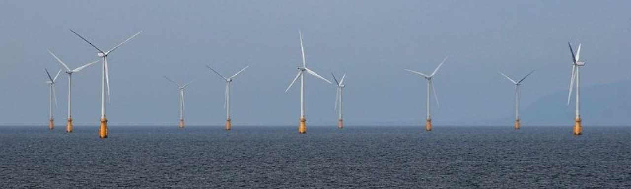 Ierse Zee wordt groot offshore windpark
