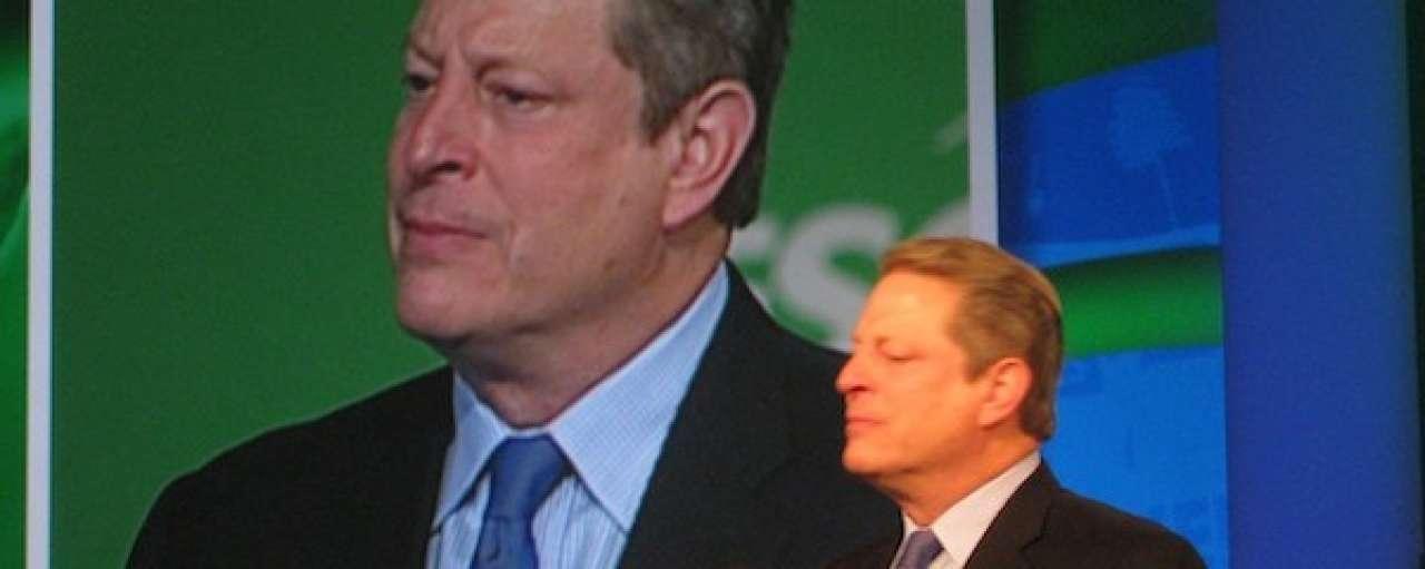 Al Gore: desinvesteren in steenkool verstandig